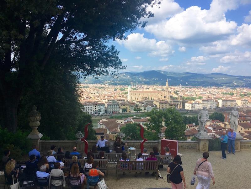 Eventi e scrittori alla Città dei Lettori a Firenze