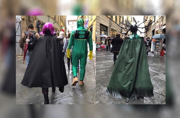 L'abito non basta, parola di supereroi